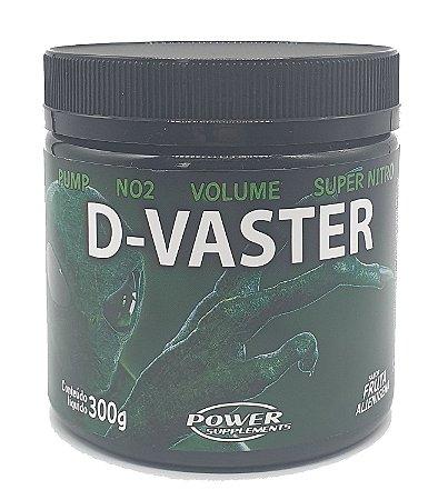 Pré Treino D-Vaster ORIGINAL + Coqueteleira Power Supplements