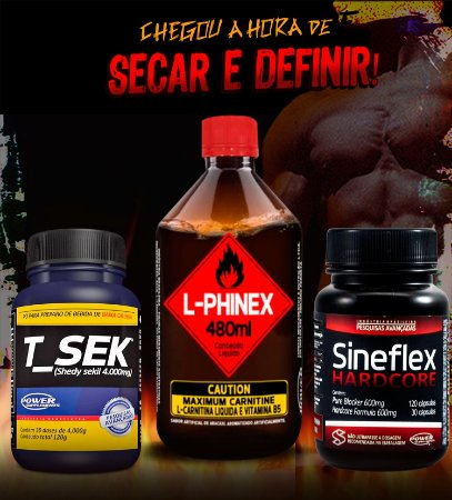 Sineflex Hardcore, T_Sek e L-Phinex - Combo Definição