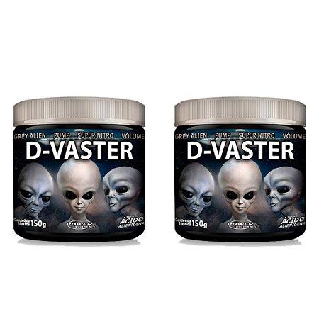 Pré Treino D-Vaster sabor Ácido Alienígena (150g cada pote) - Combo 2 Potes