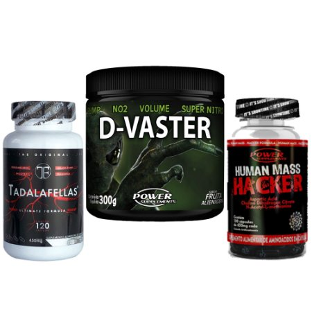 D-Vaster + Human Mass Hacker + Tadalafellas 450mg