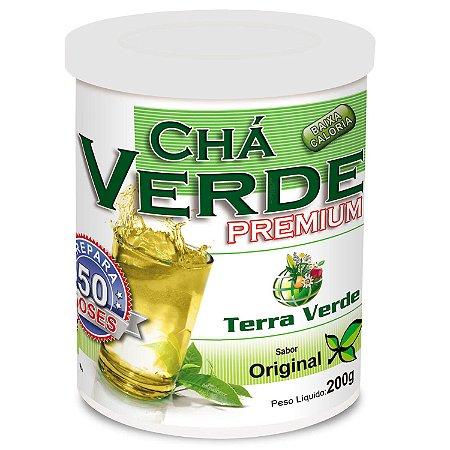 Chá Verde Premium Original Terra Verde - 50 Doses - 200g