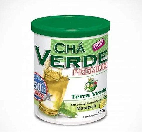 Chá Verde Premium Maracujá Terra Verde - 200g - 50 Doses