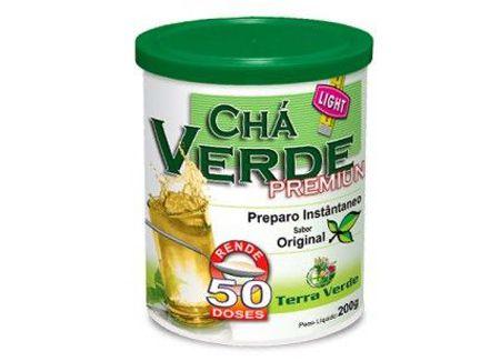 Chá Verde Premium Laranja Terra Verde - 200g - 50 doses