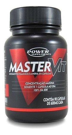 Polivitamínico MasterVit da Power Supplements - 90 Cápsulas - Tomar apenas 1 por dia!!!