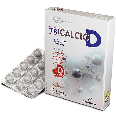 Tri Cálcio D da Terra Verde com 90 comprimidos de 1,2g