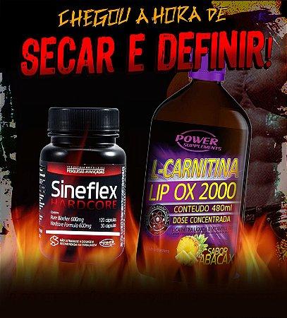 Sineflex Hardcore e L-Carnitina LIP OX 2000