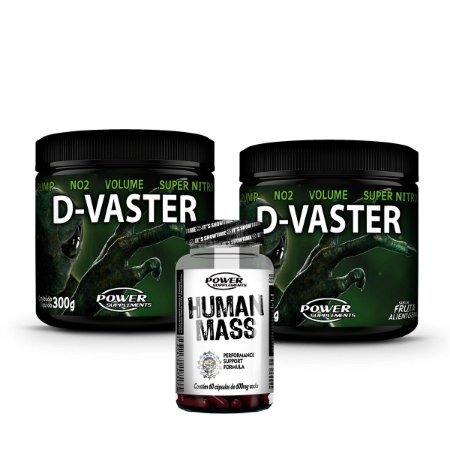 2 D-Vaster da Power Supplements + 1 Human Mass