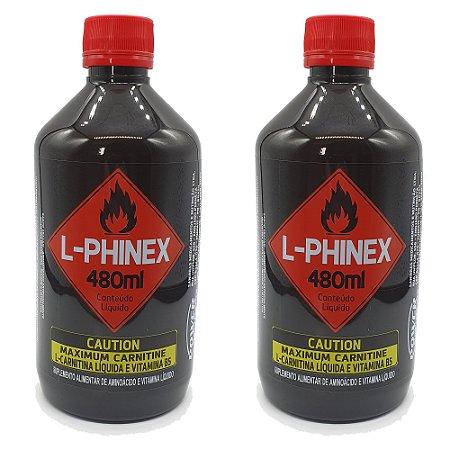 2 L-Carnitinas L-Phinex da Power Supplements Preço Promocional!