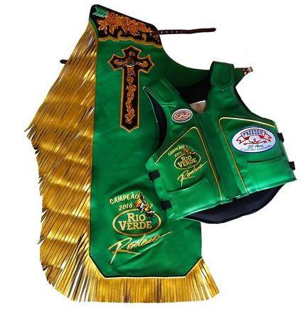 Kit Calça e Colete Personalizado Rio Verde