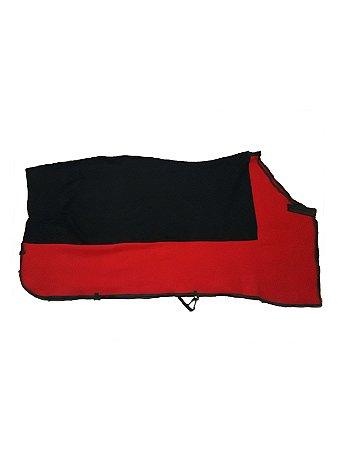 Capa Térmica para Cavalo Vermelha/Preta