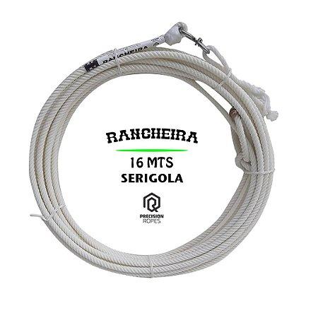 CORDA RANCHEIRA 4T 16 MTS C/ SERIGOLA - PRECISION ROPES