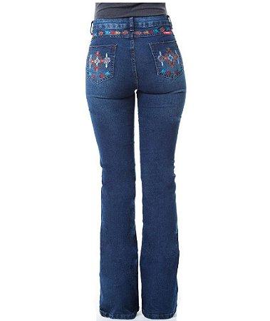Calça Jeans Feminina Takanka Navajo Colors