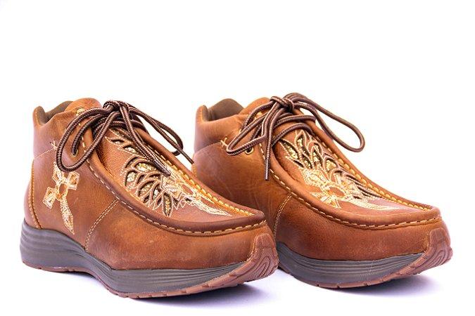 Bota Tênis Country Feminino Vimar Boots Bambú