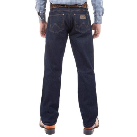 Calça Jeans Masculina Wrangler Azul Cowboy Cut 13MWZ Original