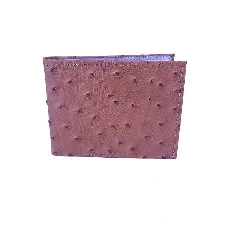 Carteira masculina couro porta cartão