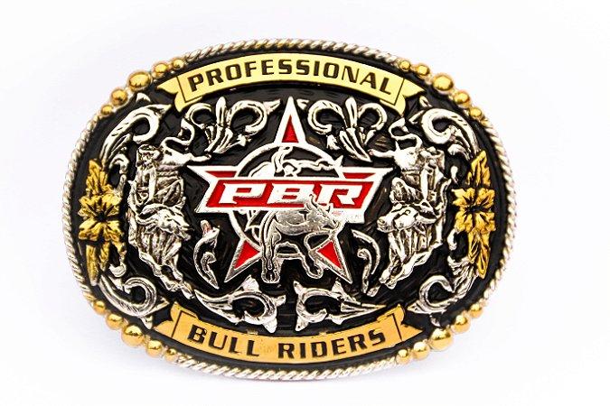 Fivela PBR Professional Bull Riders