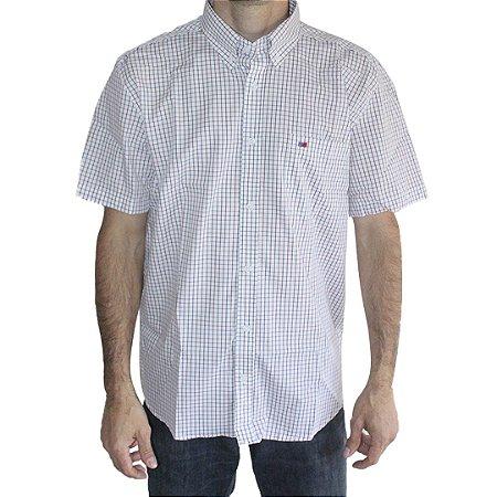 Camisa Manga Curta Masculina Branca Smith Brothers