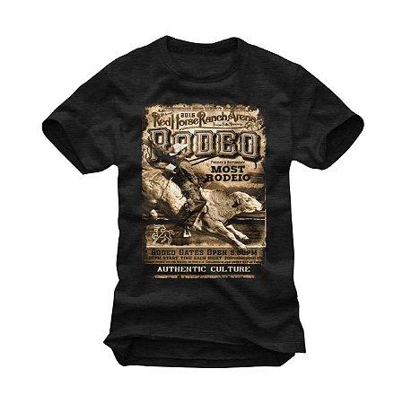 Camiseta Masculina Preta Most Country