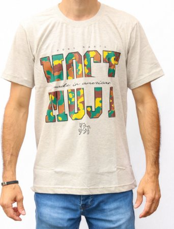 Camiseta Masculina Mescla Most - Camuflada