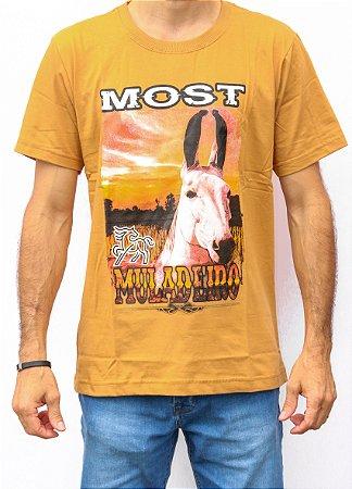 Camiseta Masculina Mostarda  Most - Muladeiro