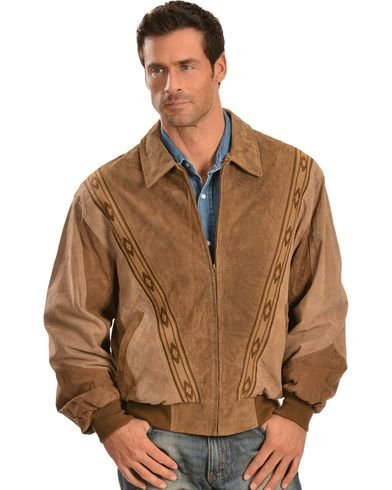 JAQUETA COUNTRY MASCULINA SCULLY BOAR SUEDE LEATHER ARENA