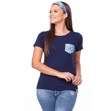Camiseta Tatanka feminina baby look c/ bolso