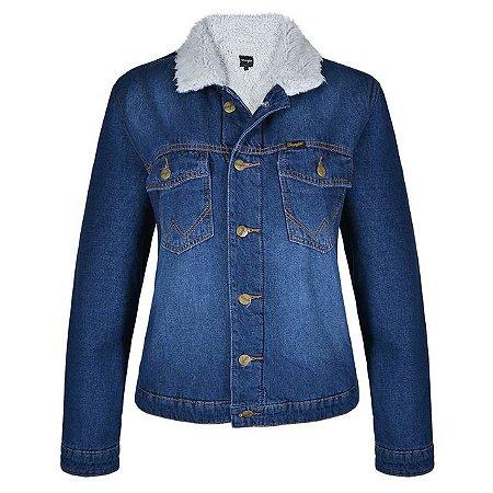 Jaqueta Wrangler Jeans feminina forrada