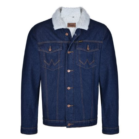 Jaqueta jeans forrada wrangler