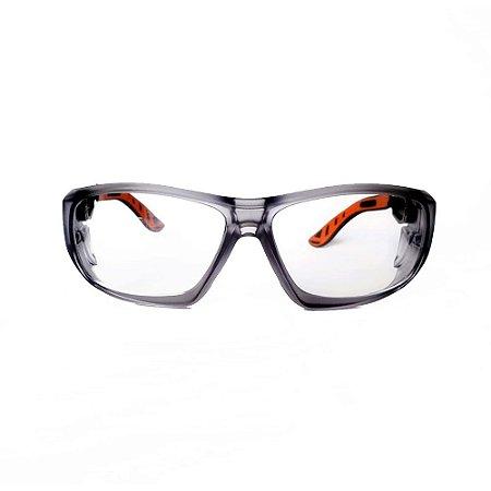 Óculos De Segurança Pequeno Lente Em Resina Transparente Anti-Impac. (5X9C11198) – UNIVET C.A. 38609