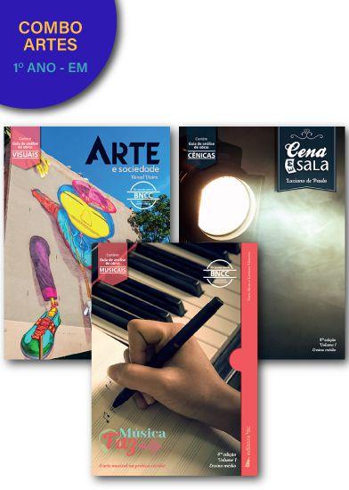 Combo: Artes para o 1º ano - EM