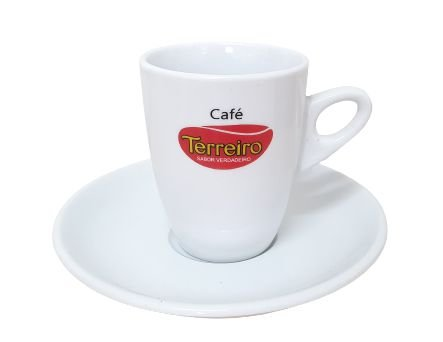 Xícara Itália 160 ml - Espresso (com pires)