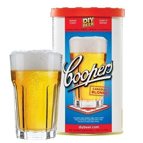 BEER KIT COOPERS CANADIAN BLOND - 23LITROS