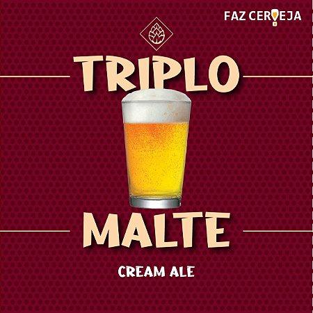Kit Receita Triplo Malte - Cream Ale