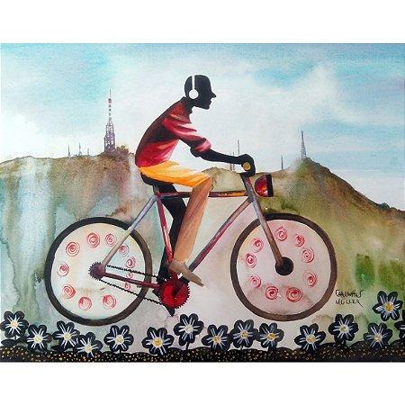 Quadro Decorativo Bike