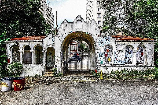 Quadro Decorativo Arcos de Sao Paulo