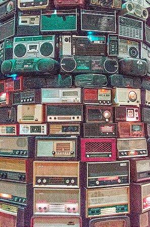 Quadro Decorativo Rádios