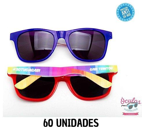 Óculos Personalizado Multicolor -   60 unidades