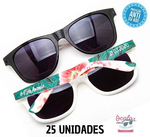 Óculos Personalizado Multicolor -       25 unidades