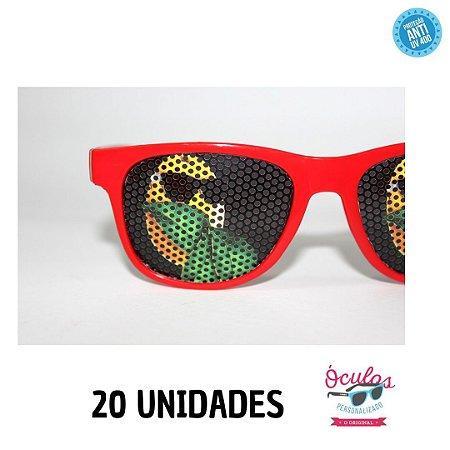 Óculos Lentes Personalizadas - 20 unidades