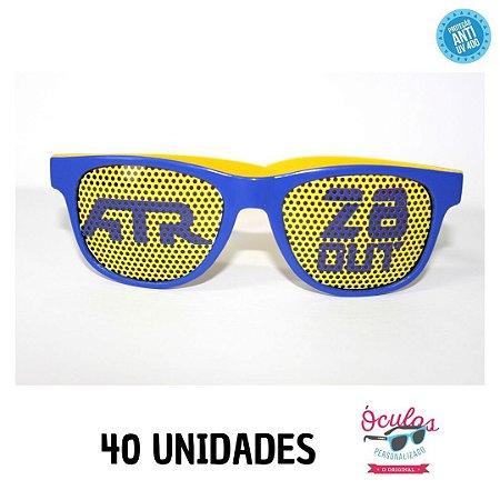 Óculos Lentes Personalizadas - 40 unidades