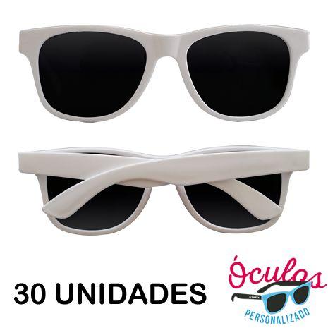 Óculos para festa Standard Liso - 30 unidades