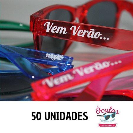 ÓCULOS PERSONALIZADO CRISTAL LINE - 50 UNIDADES