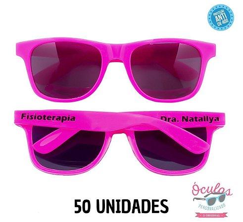 Óculos Personalizado Standard - 50 unidades