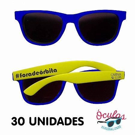 Óculos Personalizado Standard MIX - 30 unidades