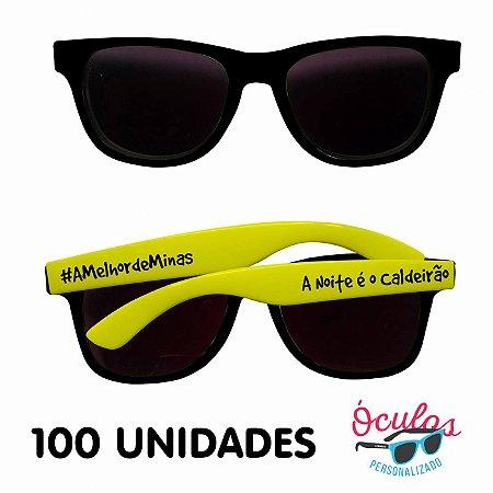 Óculos Personalizado Standard MIX - 100 unidades