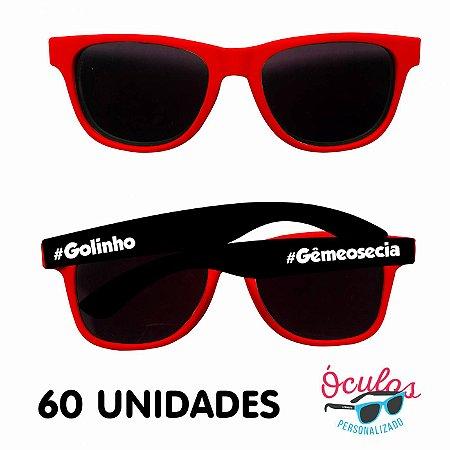 Óculos Personalizado Standard Mix - 60 unidades