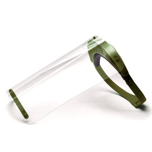 Face Shield - Electric Ink - Verde Militar