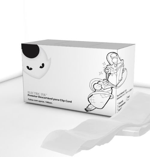 Protetor de Clip Cord - Electric Ink - Transparente