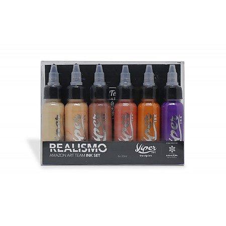 Set Tintas Viper Ink - Amazon - Realismo