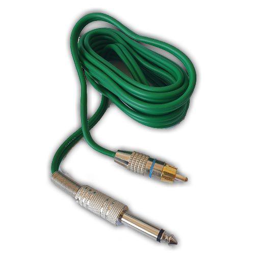 Clip Cord RCA - New Fontes - Verde